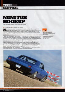 Mini Tub Hookup