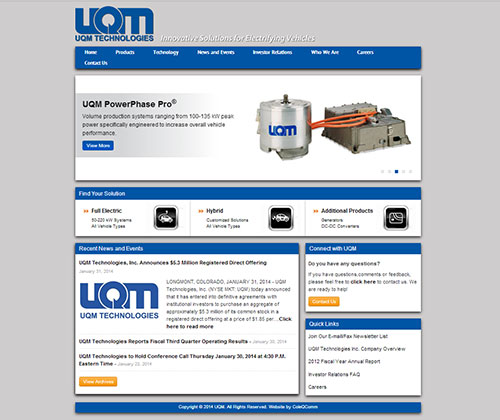 UQM Technologies Inc.